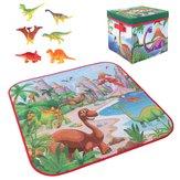 72x72 سنتيمتر الأطفال الكرتون تلعب حصيرة + 6 الديناصور لعبة مربع للطي مربع التخييم حصيرة كيد طفل الزحف نزهة السجاد