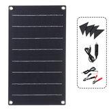 10W ETFE Solar Panel wasserdichtes Auto-Notladegerät mit 4 schützenden Ecken