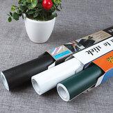 Sosraka 45 * 100 cm PVC Wasserdichte Tafel Tafel Wandaufkleber Bewegliche Kid Graffiti Schreibtafel Aufkleber Lehrmittel Liefert Schlafzimmer Wohnzimmer Decor
