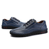Menico Genuine Leather Business Casual Oxfords