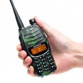 Baofeng UV-990 Walkie Talkie Triple 10W Dual PTT VHF UHF Dual Banda Ham Portable CB Radio Audio bidirezionale
