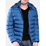 Мужскаязимняяскапюшономветрозащитнаятеплоизолированная мягкая куртка