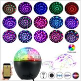 Música portátil Lámpara Bluetooth DJ Party 16 Light con Control remoto Stereo Subwoofer Party Lights para Stage Bar