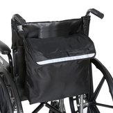 Büyük Su Geçirmez Tekerlekli Sandalye Depolama Sırt Çantası Çanta Taşıma Saplı