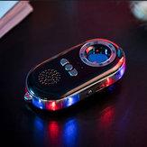 Dispositifd'alarmeLEDdudispositifd'alarme infrarouge de détecteur infrarouge de voyageur d'hôtel rechargeable de Smoovie USB