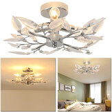 Acrylic Leaf Arms Ceiling Light LED Living Bedroom Room Lamp Fitting Lighting