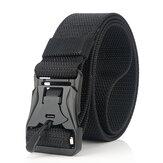 ENNIU XX19 Hebilla magnética sin punzón de 125 cm militar Táctica Cinturón Aleación de zinc Cintura de liberación rápida Cinturóns 2019 El más nuevo estilo