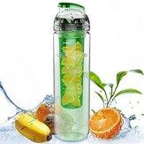 800ML Portátil Clear Sport Fruit Infuser Copo de água Filtro de suco de limão