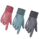Frauen Winter warme Handschuhe Touchscreen winddicht Anti-Rutsch-Thermo-Outdoor-Sport Skifahren Handschuhe