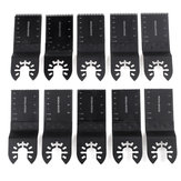 1Pc / 10Pcs / 20Pcs 34mm Durável Oscilante Multi Tools Saw Blade Long / Short Sawtooth
