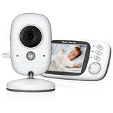 2 Way Talk Camera 3.2inch Digital Wireless Baby Monitors Night Vision Video Audio Camera