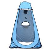 収納袋が付いている単一の自動テントのキャンプ反紫外線日よけ浜の洗面所のテント