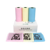 Peripage C5730 3 Rolls 57x 30mm Colorful Thermal Receipt Paper for 58mm Thermal Wireless Printer