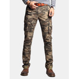 Men's Fashion Cargo Pants Multi Pockets Outdoors Pants