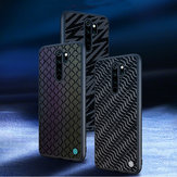 NILLKIN Reflective Slight Woven Polyester Mesh Anti-scratch Protective Case for Xiaomi Redmi Note 8 PRO