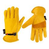 Paire de gants d'équitation de moto, travaux de jardin, protection des travaux résistants aux épines résistant au vent