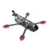 TransTec Freedom HD 228mm Radstand 5mm Arm 3K Carbon 5 Zoll Racing Rahmen Satz für DJI FPV System