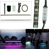 1M RGB LED Strip Light Bar Lamp for M365 / M365 Pro Electric Scooter