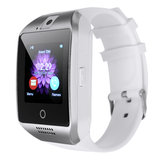 Q18 Bluetooth Smart Watch avec écran tactile Big Batterie Support TF Carte SIM Camera pour Android iOS