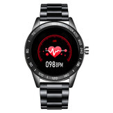 LIGE BW0109 Casual 1.3-inch Full-round Touch Screen Heart Rate IP67 Waterproof Multi Sports Modes Smart Watch