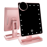 Miroir de maquillage de haut-parleur Bluetooth lumineux LED Touch Light
