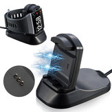 DC 5V Smart Watch Magnetic USB Cable Charger Charging Dock Holder For Fitbit Ionic Smart Watch