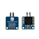 Matek Systems Analog Airspeed Sensor ASPD-7002 Controlador de vuelo para avión RC Ala fija