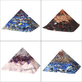 Pyramid Crystals Gemstone Meditation Yoga Decorazione per la casa in pietra curativa dell'energia