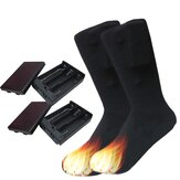 Cotton Electric Heated Boot Socks Feet Foot Warmer Warm Heater Gift