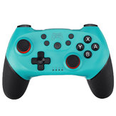 Bluetooth sem fio Gamepad 6 eixos Gyroscope Giroscópio Dual Vibration Game Controller para Nintendo Switch Game Console