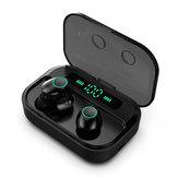 Mini Przenośne TWS bluetooth 5.0 Bezprzewodowe słuchawki douszne Smart Touch IPX7 Wodoodporne słuchawki bankowe 3600 mAh z mikrofonem