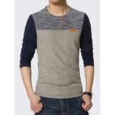 Casual Half Sleeve O-Neck T-shirt