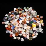 1000 g di cristalli di quarzo naturale sfuso pietre di agata mista pietra curativa burattata