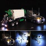 Kit d'éclairage DIY LED UNIQUEMENT pour l'éclairage de camion de la série LEGO 42078 Technic