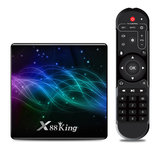X88 King Amlogic S922X 4GB DDR4 RAM 128GB ROM 1000M LAN 5G WIFI bluetooth 5.0 Android 9.0 4K VP9 H.265 TV Box