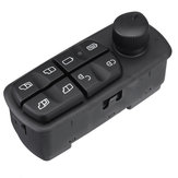 Master Power Control Window Mirror Switch 15+4Pin LHD For Mercedes-Benz Truck Car