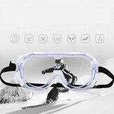 CAPONISafetyGafasSuministrosProtecciónpara los ojos Transparente Anti A prueba de polvo de niebla Médico Ojo Gafas Protector transparente Médico Uso Lectura de seguridad Gafas