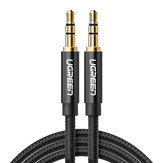 Ugreen Jack 3.5 Audio Cable 3.5mm Speaker Line Aux Cable for iPhone 6 for Samsung galaxy s8 Car Headphone 4x Audio Jack