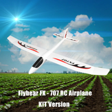 Flybear FX707 Hand Throwing RC Airplane EPP 1200mm Wingspan Aircraft Fixed Wing Plane KIT for DIY