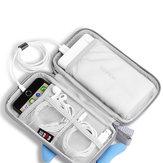 BUBM Taşınabilir 20000 mAh Karikatür Güç Bankası Çanta Şarj USB Kablosu Depolama Kılıfı Dijital Depolama Çanta