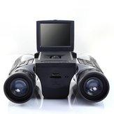 IPREE FS608 12x32 2,0 cala LCD Zoom HD Aparat cyfrowy Lornetka Kamera Teleskop Obsługa obiektywu Karta MicroSD / TF na kemping