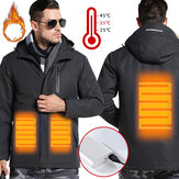 TENGOO Warm-E Electronic Heated Jacket Intelligent USB Heating Adjustable Temperature Waterproof Work Coat