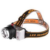 XANES® WY8546 XPE Wit + Geel + Blauw 3 kleuren Lichten 9 modi Zoombaar USB Oplaadbaar Mini Fietskoplamp Buitenrijden Fietslicht Koplamp