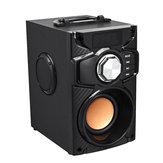 Altavoz bluetooth inalámbrico Reproductor de música portátil Bajo pesado Sonido envolvente estéreo FM TF AUX USB Control remoto Controlador