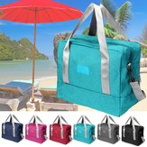 36x19x29cm Large Capacity Wet Drt Seperation Shoes Yoga Bag Beach Waterproof Sports Gym Fitness Shoulder Bag