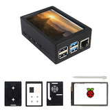 3.5inch TFT 480*320 50FPS Touch Screen Display ABS Case Kit for Raspberry Pi 4 Model B