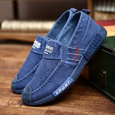 Lærred Letvægts Soft Såler Casual Walking Loafers