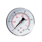 TS-Y50Z8-15 / 30/60/100/160 / 300psi Dial de 52 mm Manómetro 1/8 BSPT