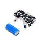 Base de robot programmable M5Stack® BugC compatible avec le microcontrôleur M5StickC STM32F030F4
