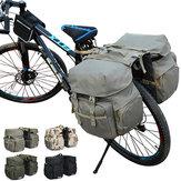 Hombro de bicicleta de montaña al aire libre Bolsa Nylon Asiento de cola de bicicleta Bolsa Bicicleta deportiva Bolsa